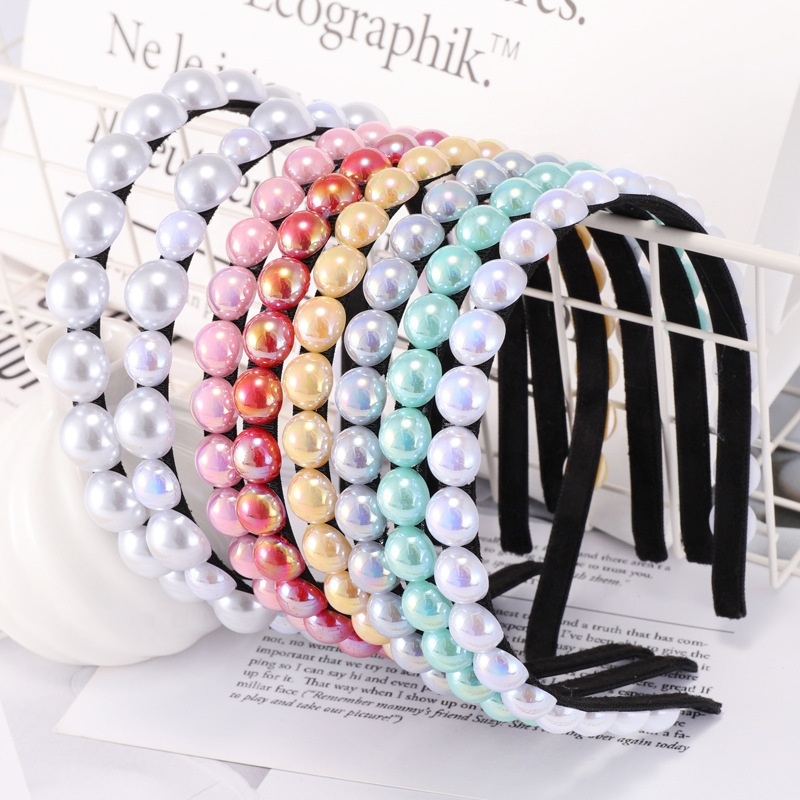 2019 wholesaler headbands for women pearl designed headbands