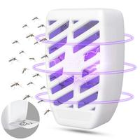 Indoor Pest Killer Electric Mosquito Killer Insect Fly Trap Odorless & Noiseless UV Light-Gnat Trap Fruit Flies and bug zapper