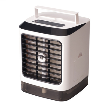 USB Mini Portable Air Conditioner Humidifier Purifier 7 Colors Light Desktop Air Cooling Fan Air Cooler Fan for Office Home Usb