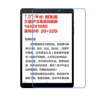 Wholesale Flexible PET Screen protector film for Teclast X89 kindow 7.5""