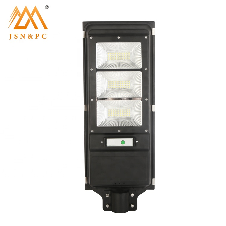 High brightness outdoor ip65 waterproof 60w solar led street light all in one outdoor lighting