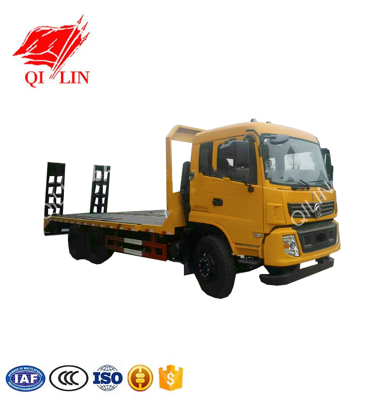 3 axles 20 tons hydraulic modular lowbed truck for sale
