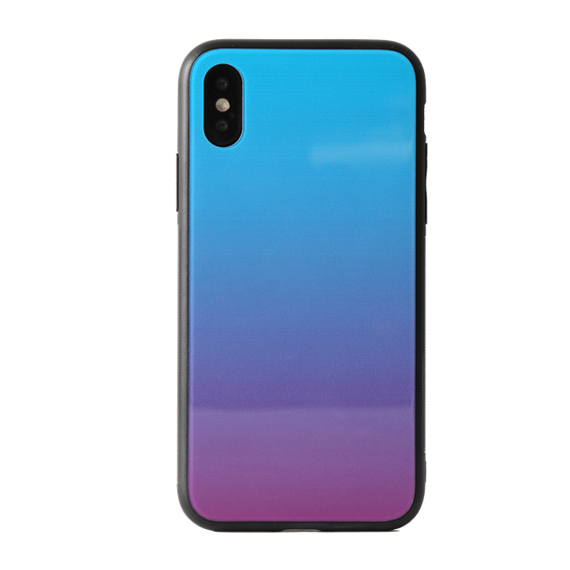 Popular Style Gradient Colorful Rainbow Tempered Glass Phone Cases For Xiaomi 8 F1 8 LITE MIX 3 9 SE 9 PRO A3 CC9E 6A 7A 8A