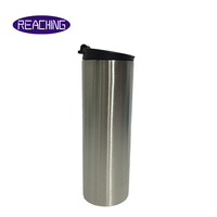 China manufacturer OEM high quality stainless steel mason jar wine tumbler double wall 20oz