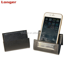 unique design wholesale cheap desk leather smart <strong>phone</strong> <strong>holder</strong> car <strong>phone</strong> <strong>holder</strong>