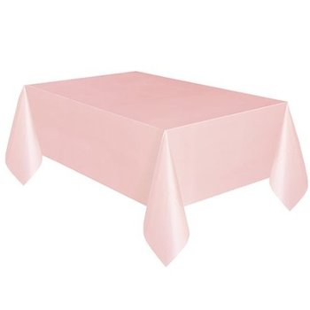 12-pack Heavy Duty Plastic Table Covers Tablecloth