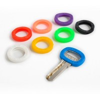 Factory Price Universal Silicone Key Identifier Rings