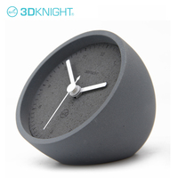 Best selling Gift Cement Retro Clock For Home Decorative