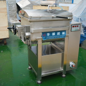 good quality new design automatic vacuum electric meat industrial food mixer machine
