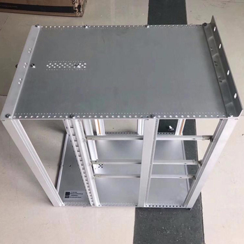 "subrack 6U/ 266*483*500mm CUSTOM 19"" full aluminum server subrack"