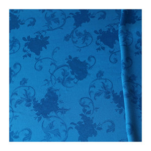 Silk feeling rayon floral pattern 169GSM jacquard viscose fabric for skirt dress blouse