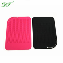 Beauty ProfessionalGood Grips silicone heat insulation pad,Curling Iron Styling Station Mats