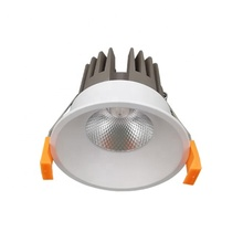 Hotel Recessed Ceiling IP44 COB 7w 9w 10w 12w Aluminum LED light <strong>Downlight</strong>