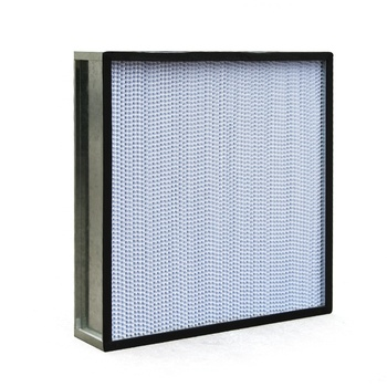 Purification equipment cleanroom used high quality terminal filters deep pleat HEPA and ULPA Filter