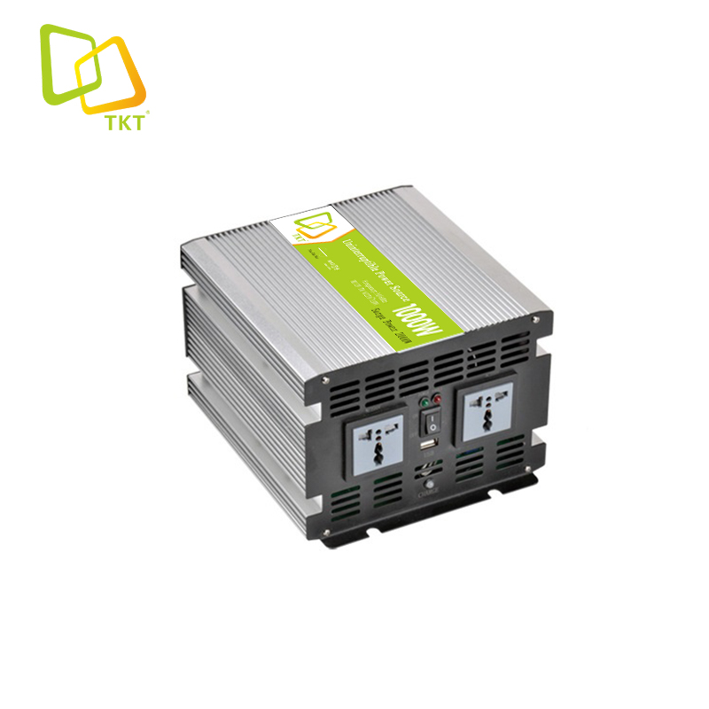 TAKTE Hottest 1000W 1000Watt 1KW 1000Va 24V/12V Home UPS Inverter <strong>Battery</strong> Charger