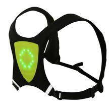 Bikeman Motorcycle Turn signal Safety Vest Reflective with Turn Right/Left/Forward/Stop Signals