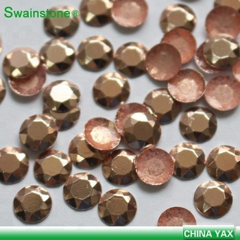 Y0823 on line! 2mm Lt pink hot fix octagon high quality;china wholesale rhinestud;manufacturer hotfix octagon rhinestud