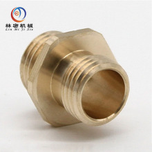 milling grinding drilling processing service brass parts cnc machining