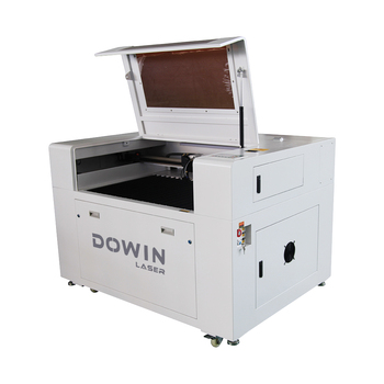 Direct factory CNC CO2 6090 80w100w laser cutting machines for wood acrylic leather cloth rubber mat
