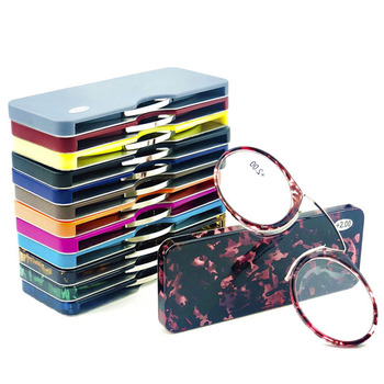 Promotional STOCK Pocket TR frame pocket nose clip reading glasses