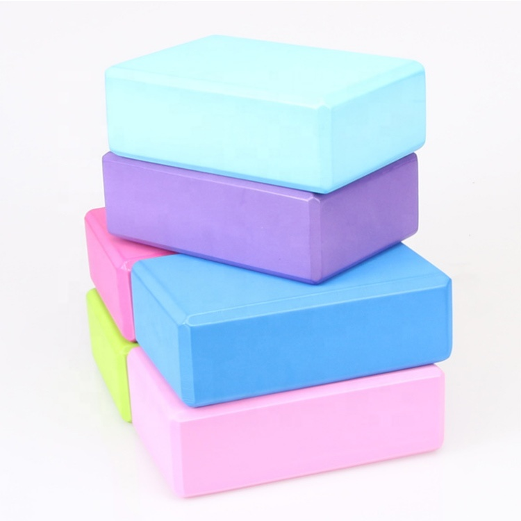 Gym Exercise Eco-friendly Colorful EVA Yoga Block