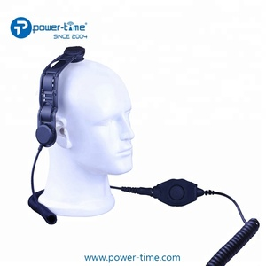 Helmet bone condcution headset for JUIPTER T PH700 two way radio