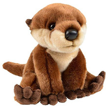 stuffed 20cm World Flopsie Plush Cali Otter