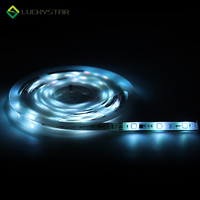 5050 RGB Flexible Light 3M 5M TV Background Lighting RGB LED strip Adhesive IP65 waterproof DC12V LED strip light