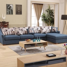 Sofa Corner Scandinavian with Cushion Wooden Set Living Room <strong>Furniture</strong>