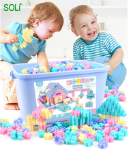 450pcs blocks Kids building blocks plastic assembling toys puzzle