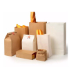 Kraft Paper Bags Food Tea Small Gift Bags Sandwich Bread Bags