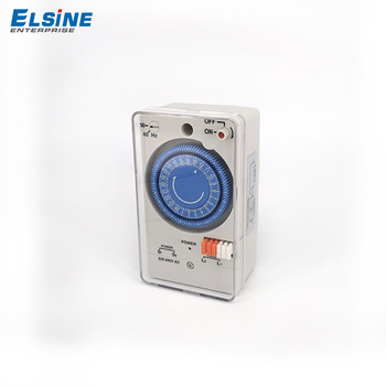 Wenzhou best quality model TB-178 230v time control programmable mechanical timer switch