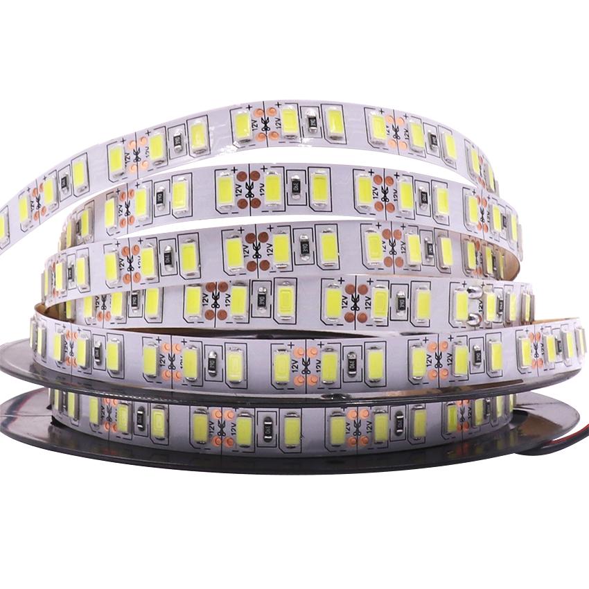 5M Super Bright 12V 5630 5730 SMD 300 LEDs Flexible Strip Home Decoration Light