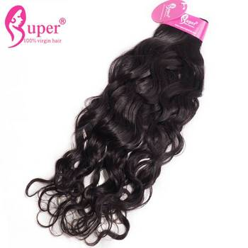 100% Unprocessed Virgin Peruvian Best Weave For Natural Black Hair Good Quality Extensions