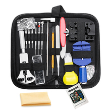 Customized Watch Repairing Tools High Quality Multi-function Nylon Bag 147 Pcs Watch Repair Tool Kit