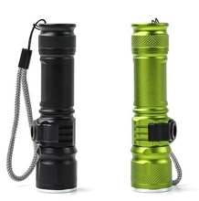 New 1000 Lumen Micro USB Rechargeable XML T6 LED Integrated Powerbank Tactical Flashlight