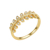 OB JEWELRY-Stylish Jewelry Rings Beautiful Brass Leaf Shaped Women Jewelry Accessories For Party