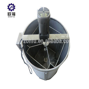 Stainless Steel 6 Frame Electric Honey Extractor, Honey Making Machine