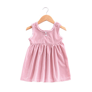 Summer Flower Girls Party Dress Baby Birthday Tutu Dresses Girls Baby Vest Dresses Pearls Kids Wedding Dress boutique clothing