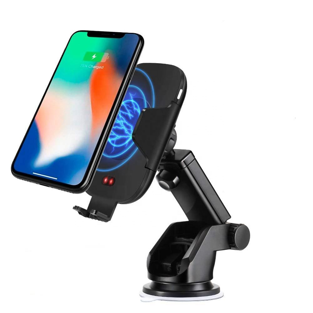KC Certificate 10W C9 <strong>C10</strong> Infrared Sensor Wireless Car Charger Phone Holder With Air Vent Holder And Dashboard