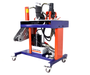 Multifunction Safety Low Noise Portable Hydraulic Copper Busbar Cutting Punching Bending Machine