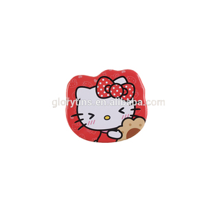 Wholesale candy chocolate packing hello kitty tin box