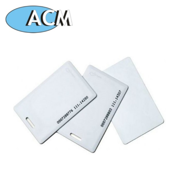 China factory price school student printing Proximity thick photo clamshell rfid id card for employee Access Control