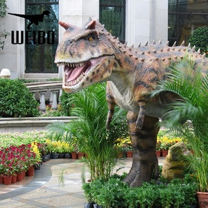 Waterproof 3d dino model outdoor animatronic dinosaur for sale
