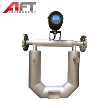 Coriolis mass flow meter 0.2% accuracy 4-20mA  flow meter