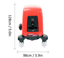 Free shipping AK435 , 360degree self- leveling Cross Laser <strong>Level</strong> 1V1H Red 2 line 1 point HOT SALE