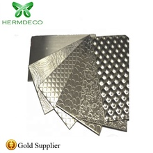 Cost effective ss304 good quality stainless knurled <strong>plate</strong> made in China for construction decoration
