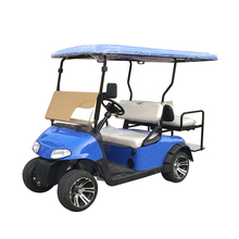 China factory directly sells the epa certified 4 stroke 300CC gasoline engine 4 seat oil powered golf cart