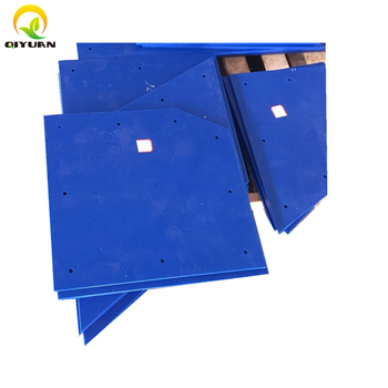 truck bed, bucket and silo lining with QIYUAN UHMWPE tivar 88 liner sheet