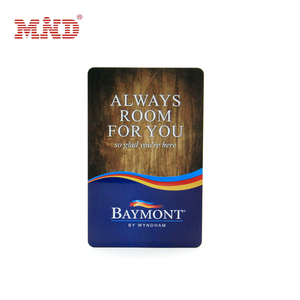 High Quality Printing RFID Hotel Key Card with Custom access control card